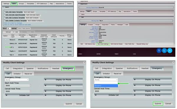 ESChat Admin Portal configuration