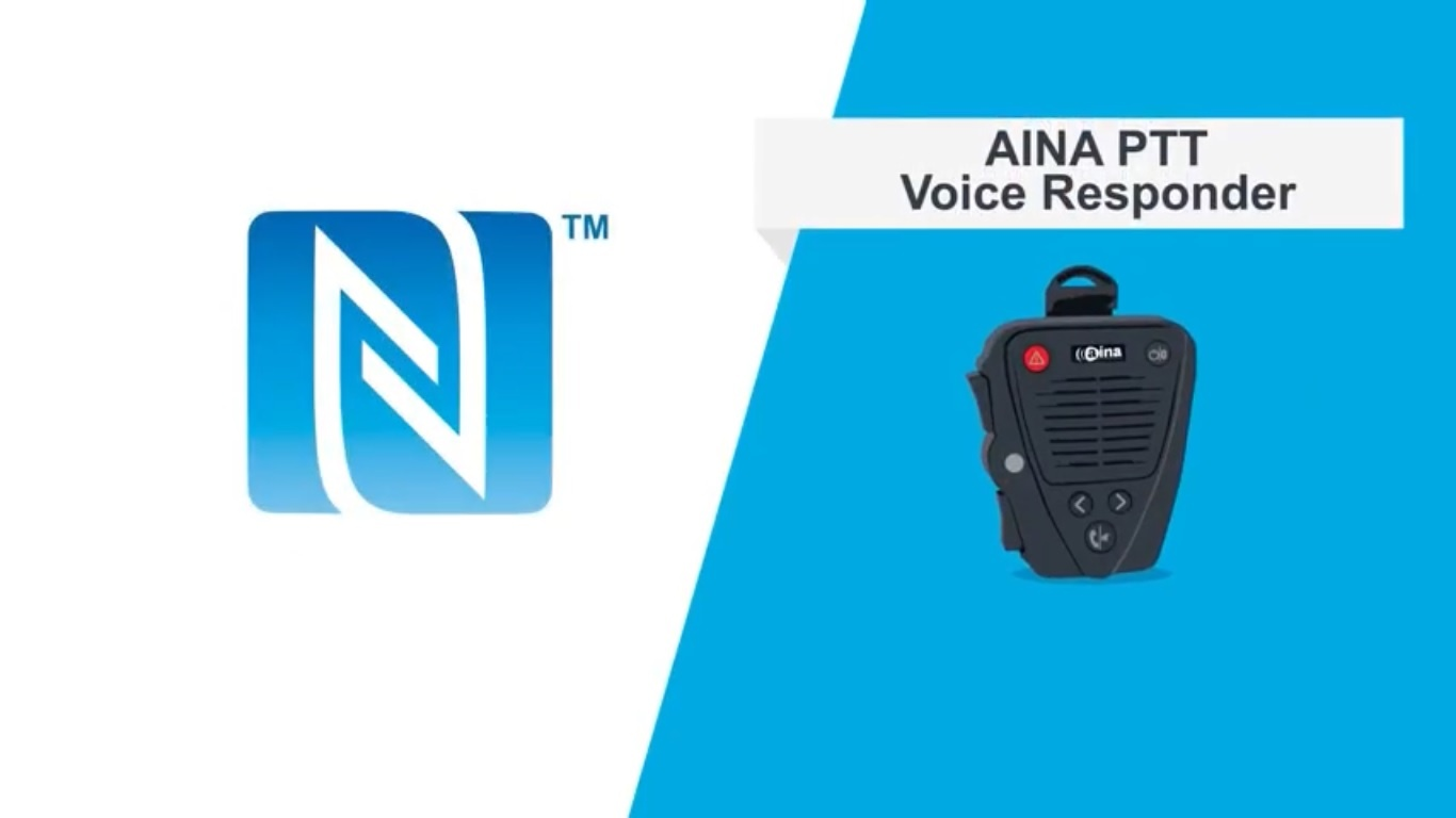 Use NFC to Simply and Securely Pair AINA Wireless PTT Accessories with Your Mobile Phone